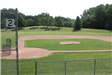 Countryside baseball field