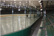 Braemar Arena View of Bleachers and Rink