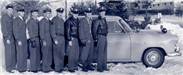 The Edina Police crew in 1953.