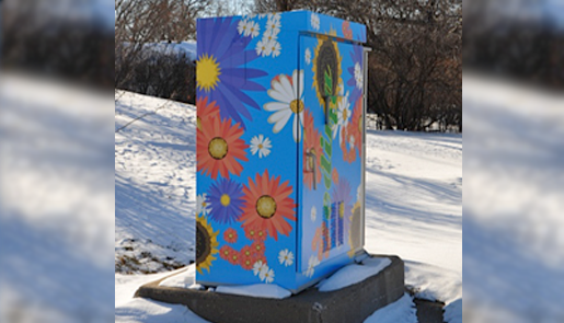 Utility Box Art Wrap
