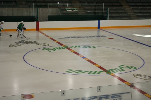 View of Braemar Center Rink