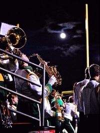 Marching Band by Moonlight