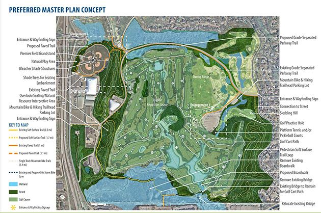 Map of Braemar Park Preferred Concept
