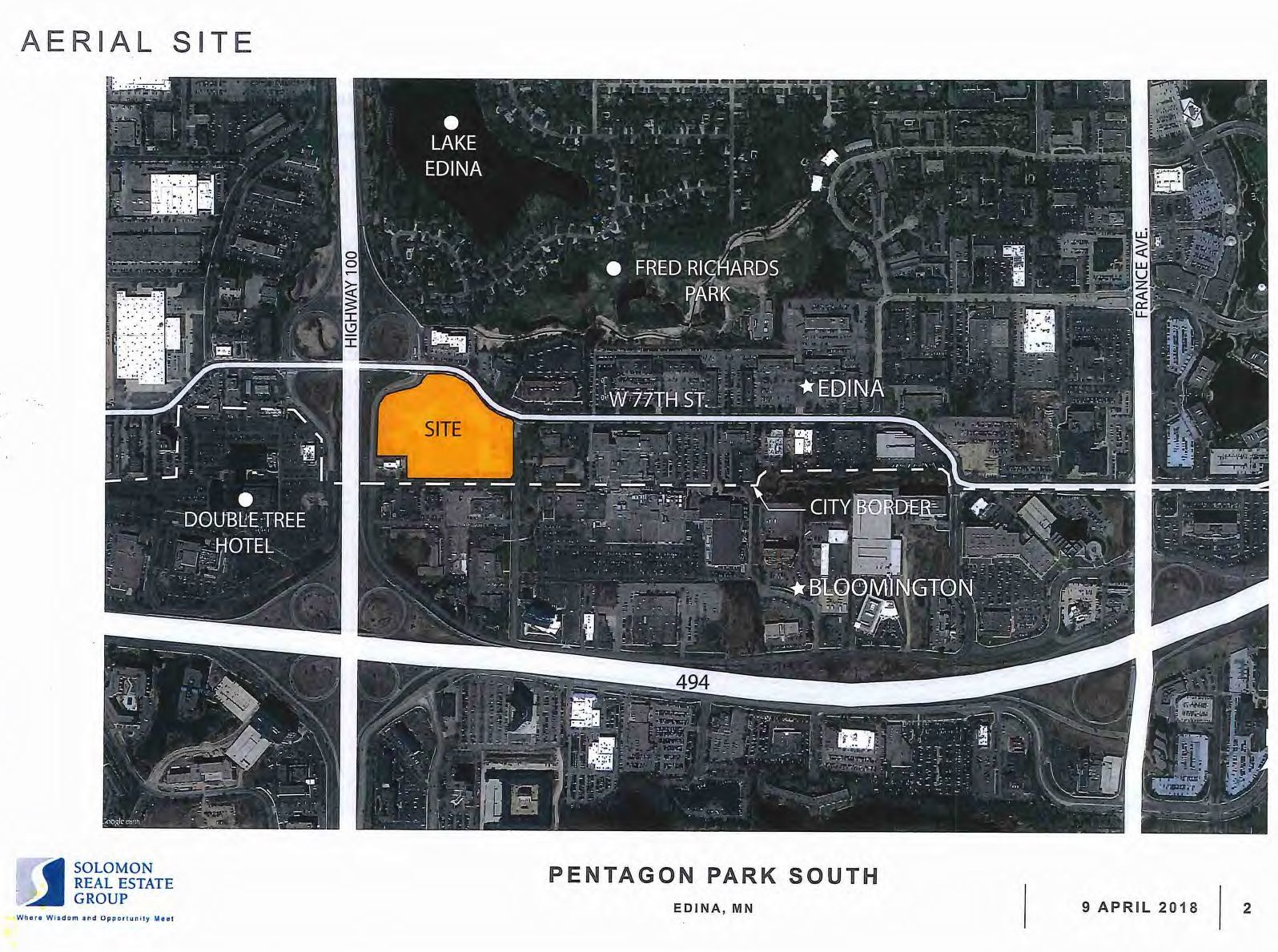 Pentagon South Aerial