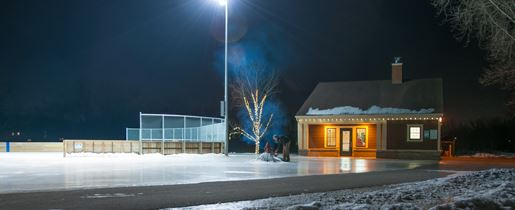 Ice Rink and Warming Center